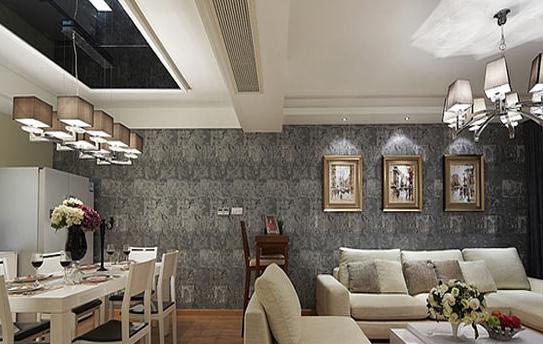 怎么搭配客厅餐厅一体化装修效果图最完美
