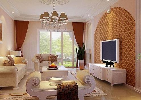 怎么设计客厅电视背景墙效果图