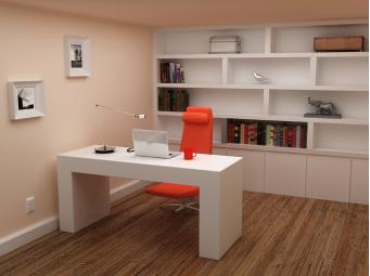 书房家具定做成为新的潮流