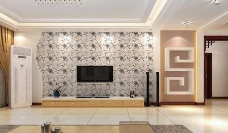 好看的新中式电视背景墙效果图