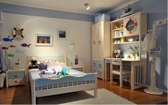 七彩生活儿童家具开启孩子的彩色生活