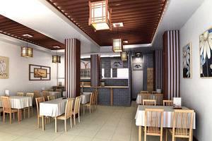 好看的小餐馆装修效果图