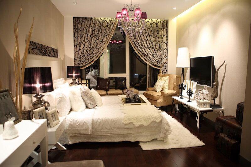 几种不同风格现代卧室装修效果图