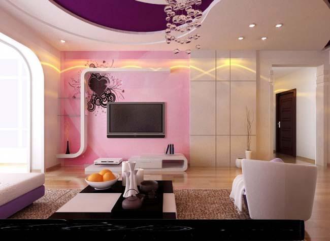 小客厅的电视墙设计,让小户型更完美
