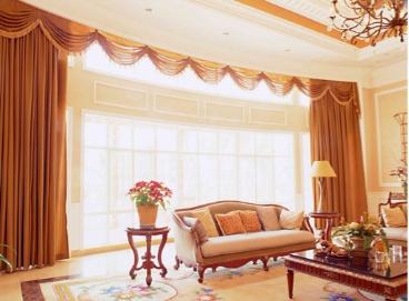 客厅窗帘选择什么颜色好