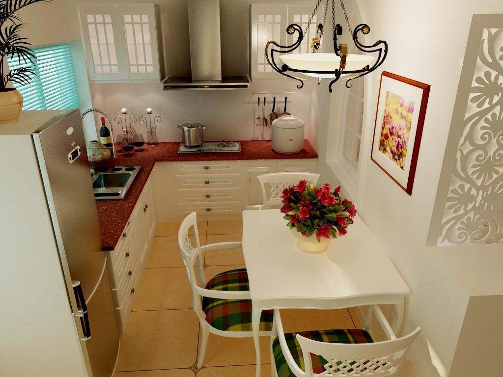 怎样装修小户型整体厨房