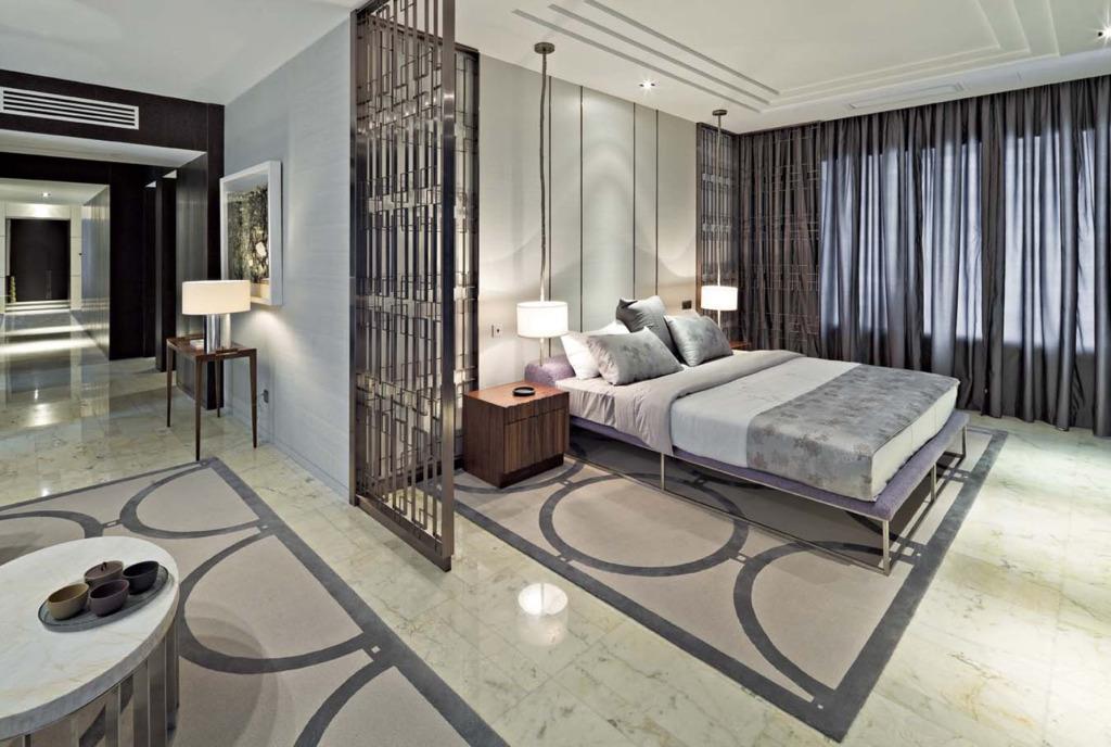 卧室隔断的存在,时尚设计的存在