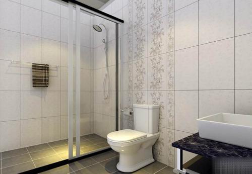 从卫生间地砖贴图中装修卫生间地砖
