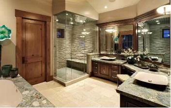 简述卫生间的门对着卧室的门处理