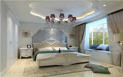 欧式床头背景墙