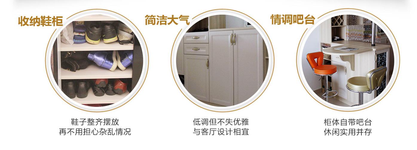 【客餐厅设计】50�O客餐厅收纳扩容计,全靠这些定制家具