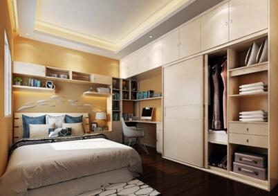 定制书柜嵌套床效果怎么样