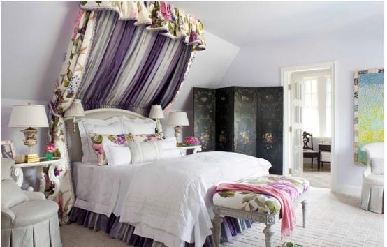 浪漫明媚的女孩卧室设计