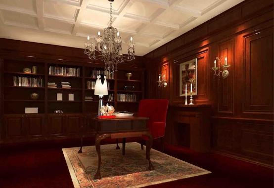 合理功能分区,客厅和书房隔断