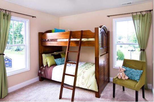儿童房间高低床布置的三个原则