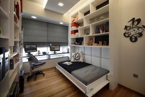 流行趋势――小卧室兼书房装修