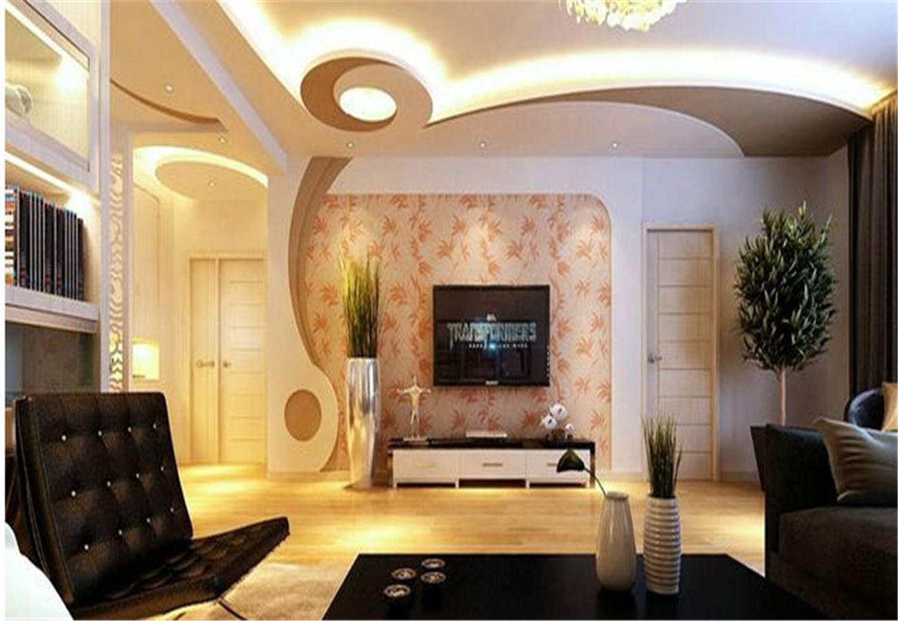 客厅一体造型