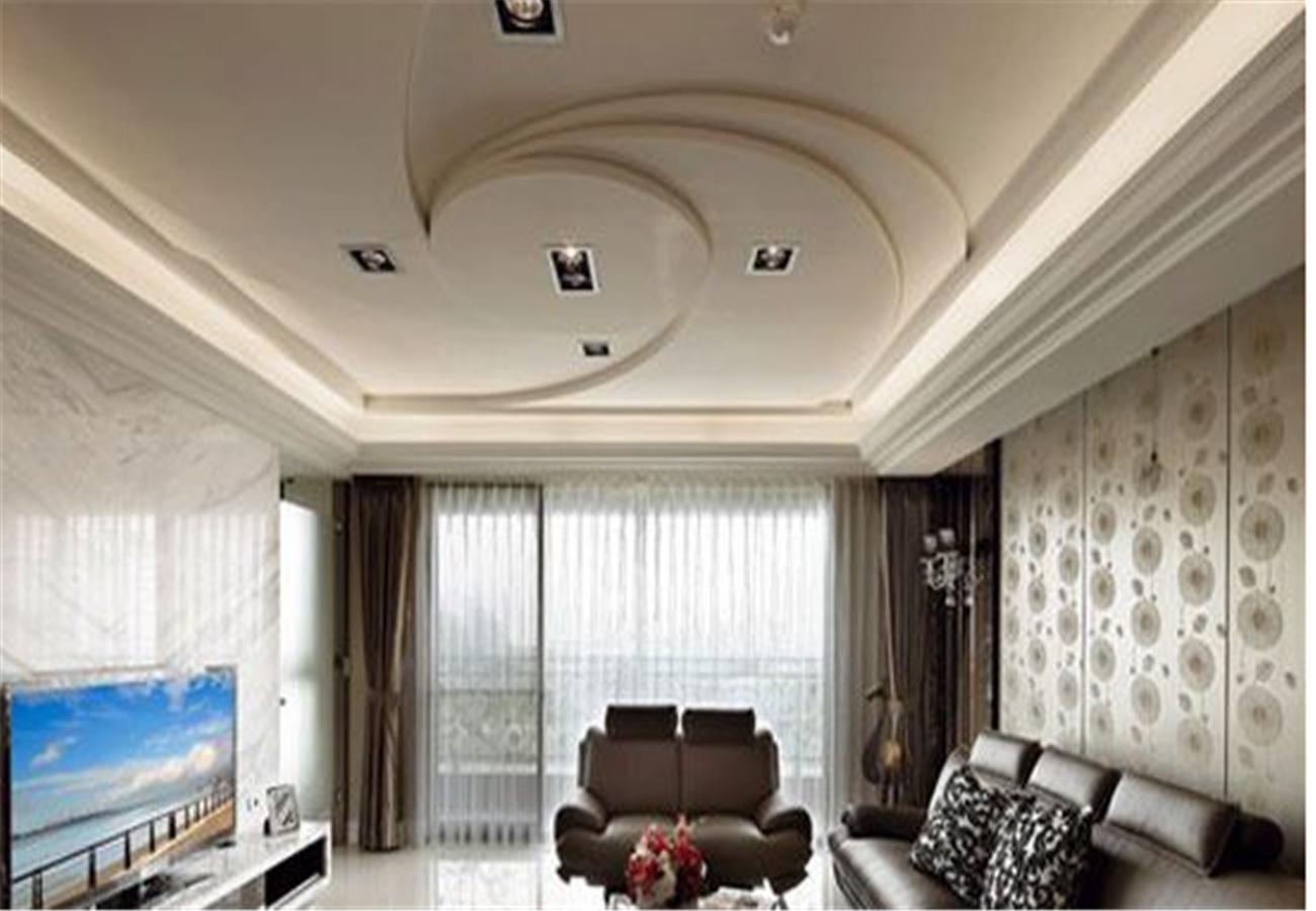 客厅天花造型衬托你的整体环境