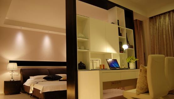 卧室与书房隔断设计的三种选材