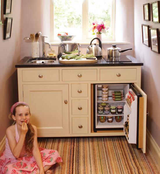 温馨的单身厨房你值得拥有