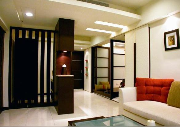 客厅隔断设计效果图高清图片