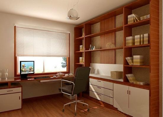三种最适合将卧室与书房相连的隔断风格