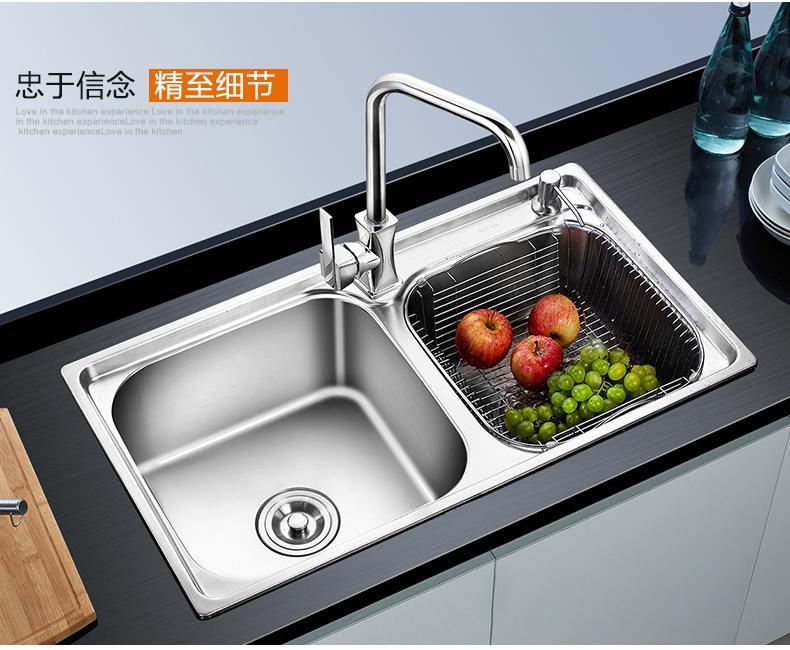 一般家庭用户厨房水槽价格定位