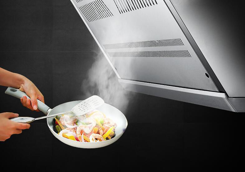 厨房排油烟的三种不同方式