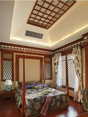 异域风情的卧室装饰