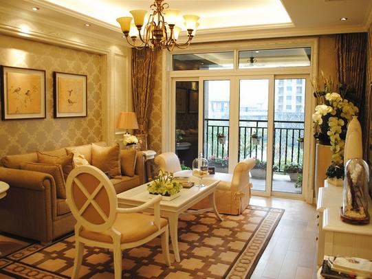 让你的客厅多一点温馨