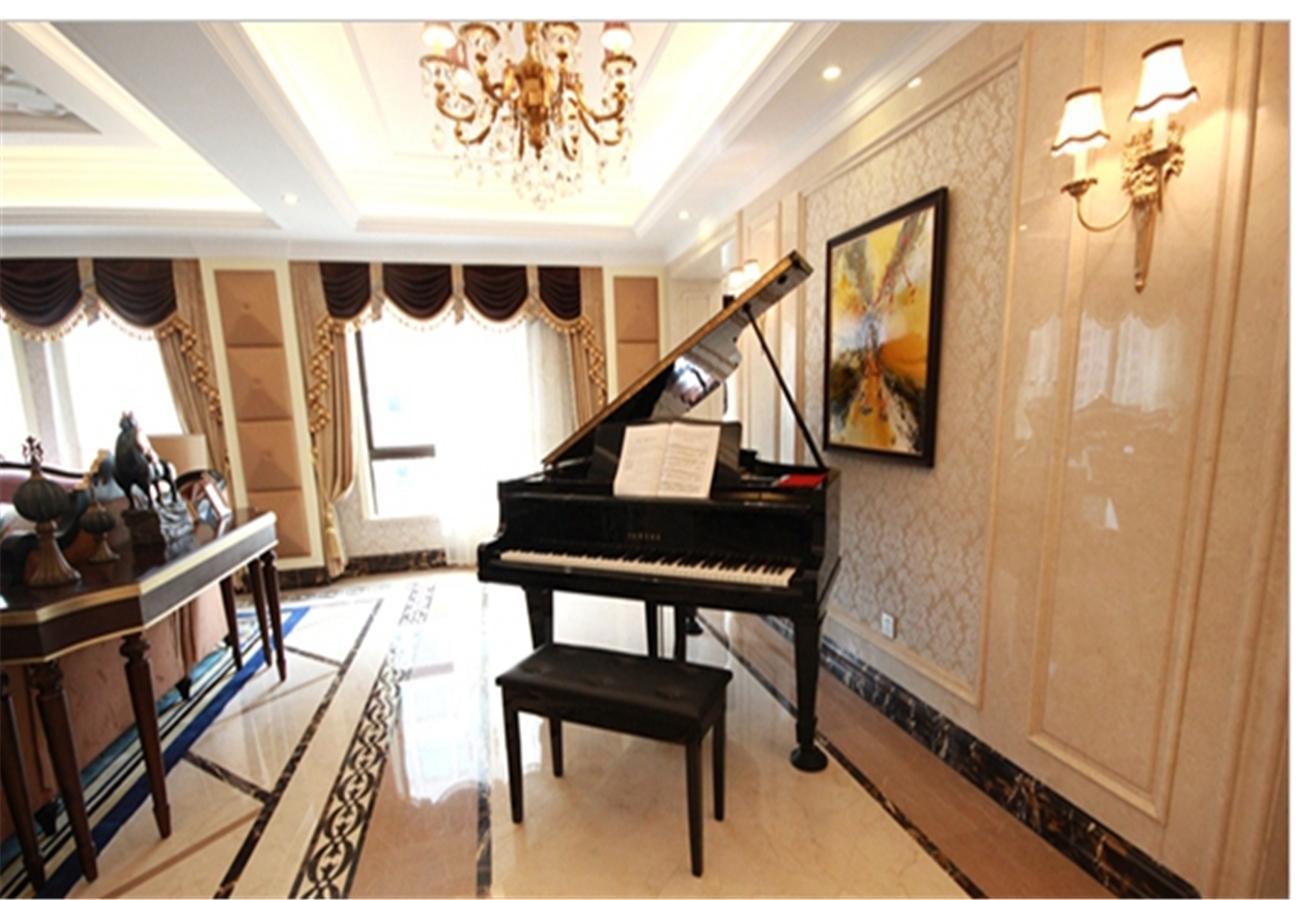 客厅隔断钢琴真实用户效果图