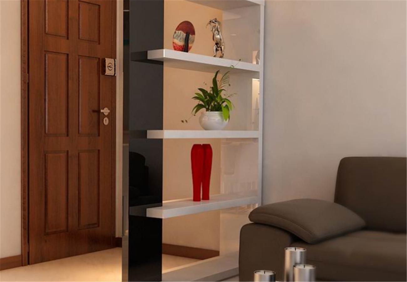 小户型客厅隔断空间利用合理