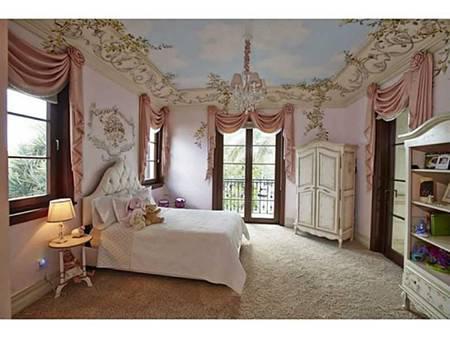 打造最心水的豪华版公主卧室