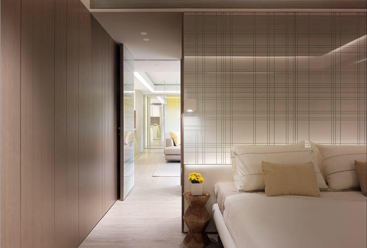 不同类型的客厅和卧室隔断图