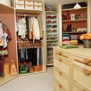 卧室衣帽间的各种风格介绍