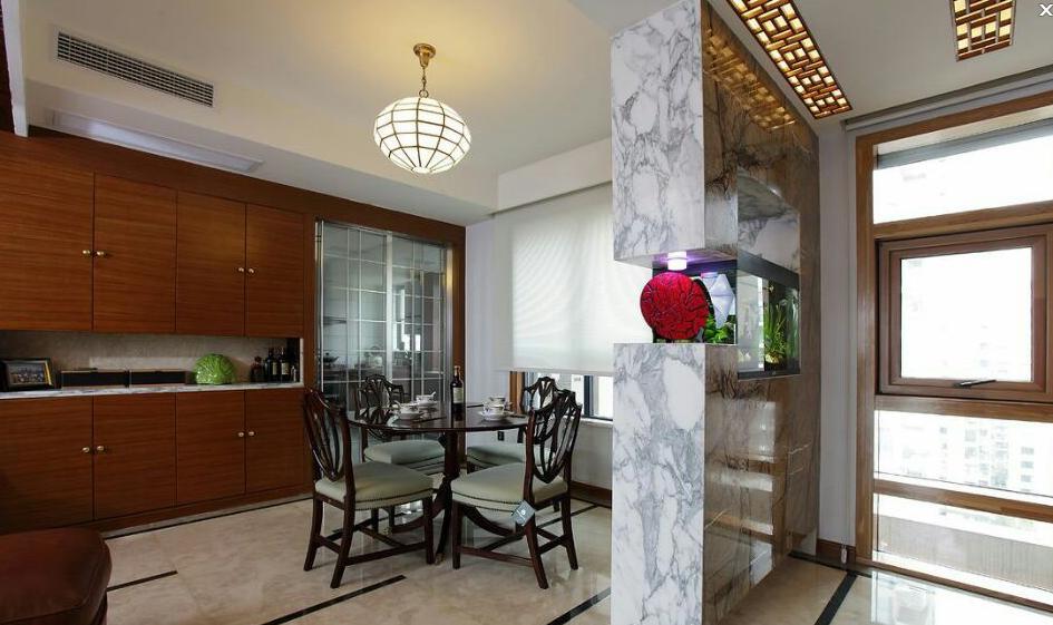 三种风格的厨房隔断设计效果图