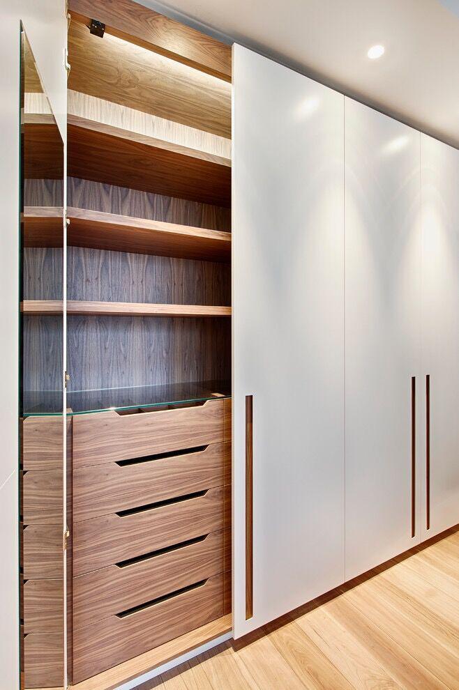 有哪些实用的卧室衣柜设计图图片