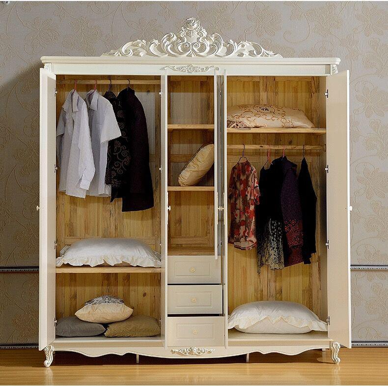 实用的卧室衣柜设计效果图