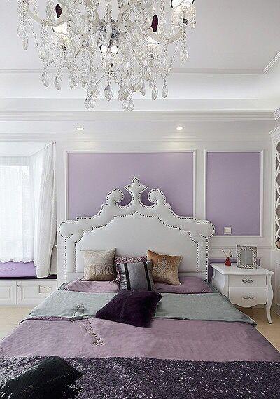 公主卧室图片里面的颜色搭配