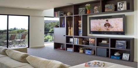 简单几招教您轻松装修客厅电视墙
