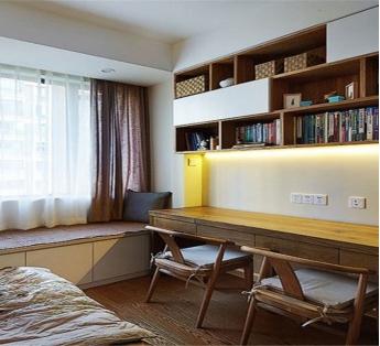别具一格的书房装修 一起来看书房榻榻米装修效果图