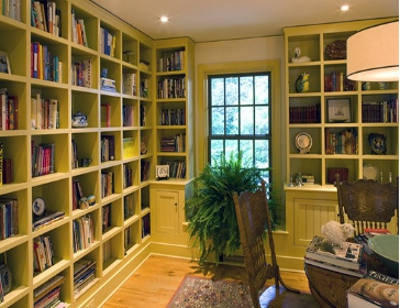 几幅书房设计装修效果图让您的书房装修更具品味