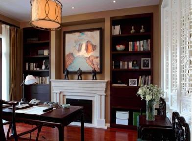 想要书房装修有情调 书房设计图片给您答案