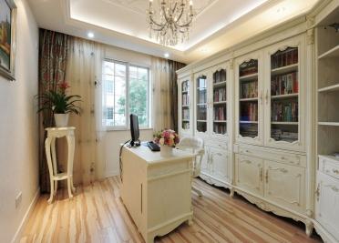 多幅书房装修实景图让您的书房装修充满想象