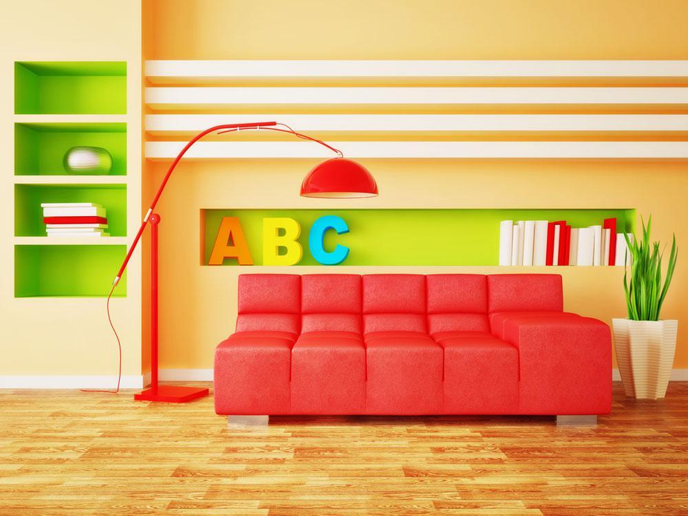 缤纷多彩儿童房间布置 让儿童快乐成长