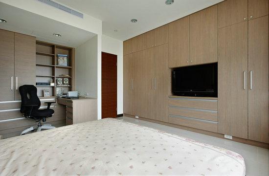 根据装修风格选择卧室墙纸