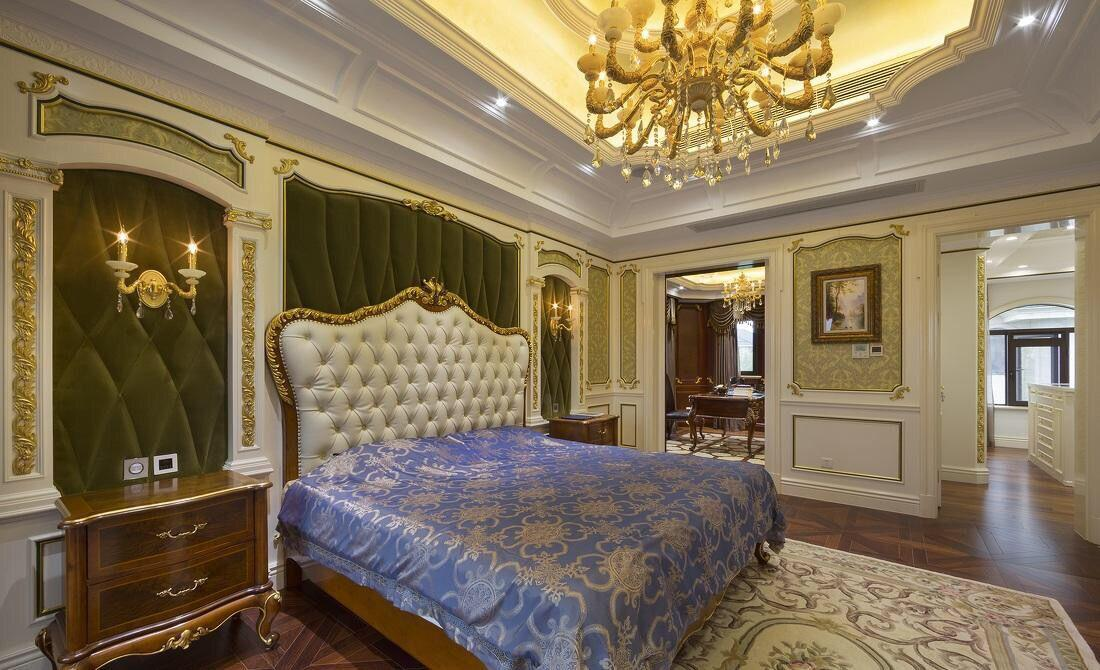 如何装修出一个超豪华别墅卧室