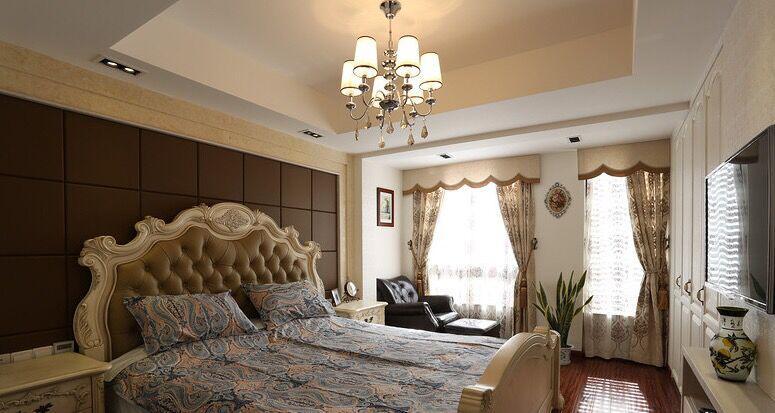 别墅卧室吊顶效果图里的装修特点