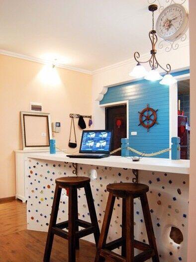 怎样装修一个个性的客厅吧台