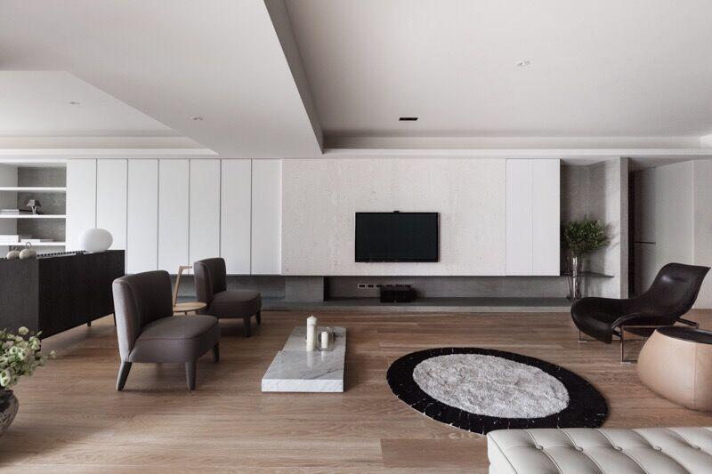 不同风格打造出不一样类型的客厅